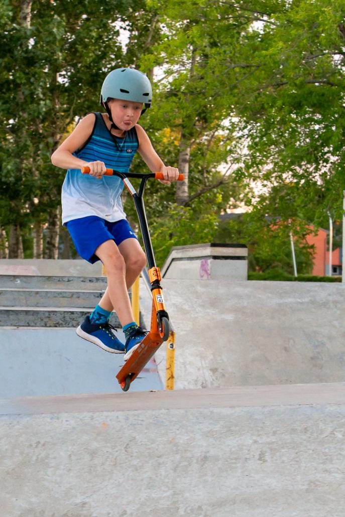 August 2020 Skate Park